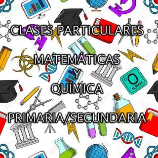 Clases particulares matemáticas/química
