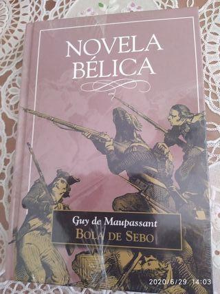 libro novela bélica