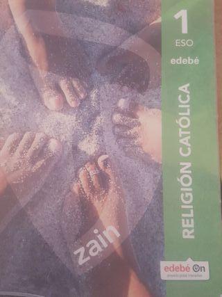 LIBRO DE TEXTO 1°ESO RELIGIÓN CATÓLICA