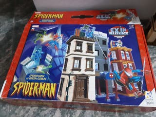 spiderman green goblin bloks