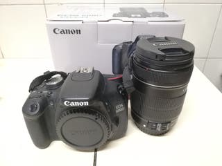 kit canon 600d con 18-135 is