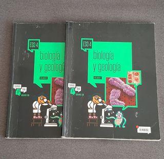 Libro Biología y Geología 4 ESO