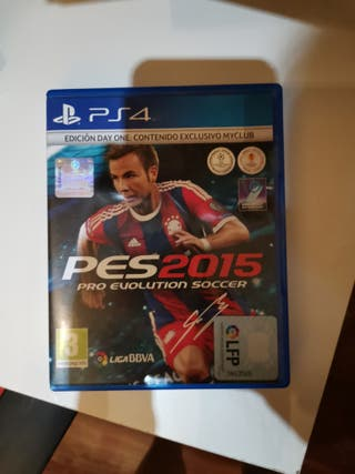 pes 2015 ps4 pro evolution soccer
