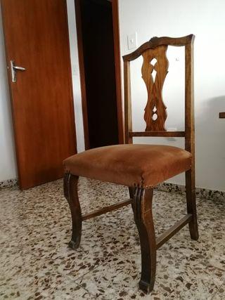 sillas 6 eur c.u.