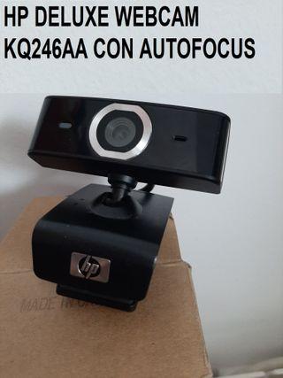 WEBCAM HP DELUXE AUTOFOCUS KQ246AA