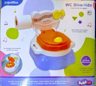 WC infantil divertido, con sonidos