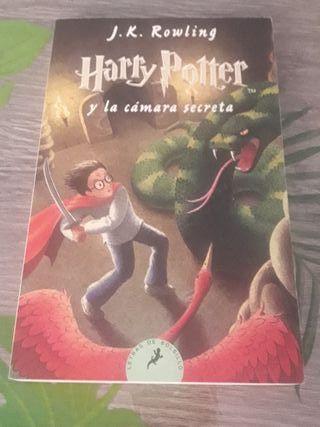 Harry Potter y la Cámara secreta J.K Rowling