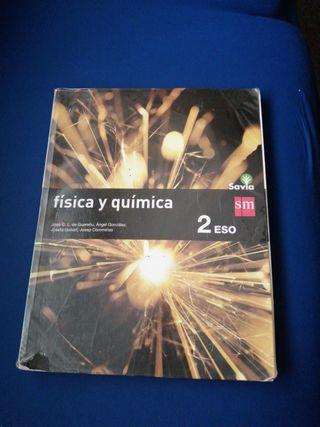Libro de física y química de segundo de Eso SM