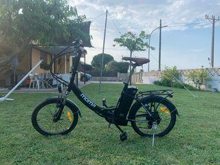 Bicicleta plegable eléctrica MOMA
