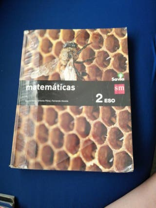 Libro de matemáticas de segundo de Eso SM