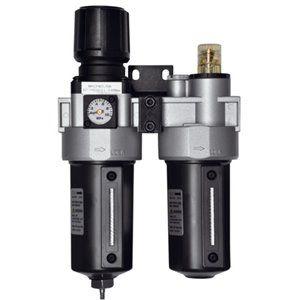 """Regulador, Filtro Y Lubricador De 1/2"""" BP255"""