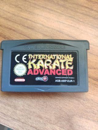 International karate avance Game boy advance