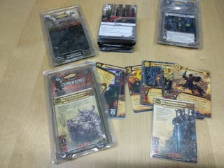 Warhammer conquest juego de cartas
