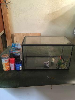 Pecera, acuario pequeño
