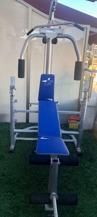 Máquina pesas musculación multi ejercicios