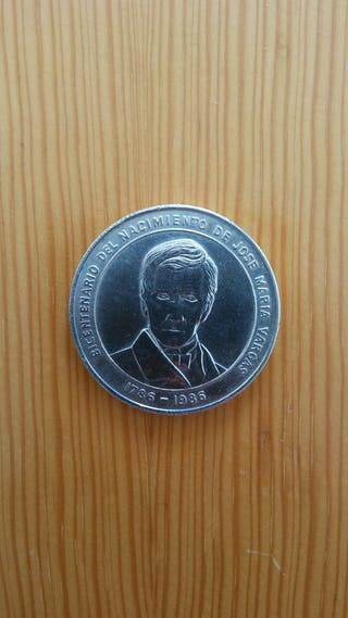 100 Bolívares de plata
