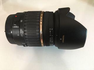 Objetivo Tamron 17-50mm f/2.8 para Canon + Parasol