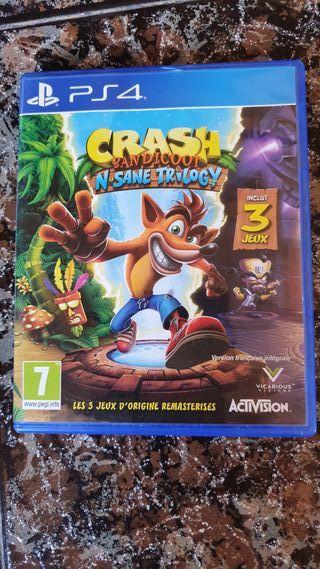 Crash Bandicoot Collection PS4