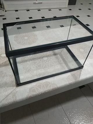 Acuario de cristal de 14 litros