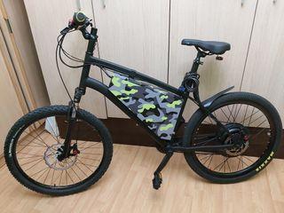 Bicicleta con kit electrico ebike