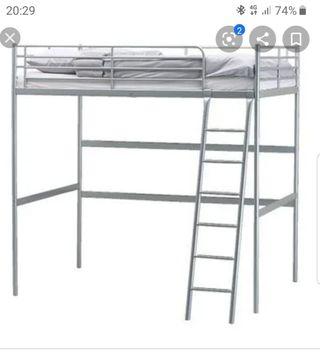 2 camas alta Ikea tipo litera