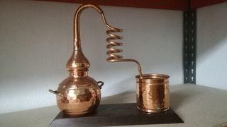 Alambique de cobre