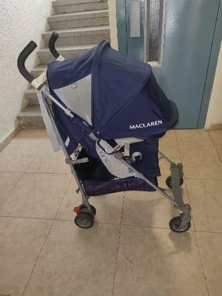 carro silla de paseo maclaren globetroter ligera