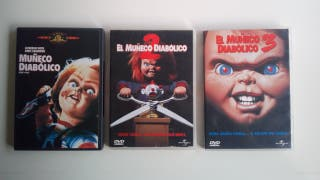 Películas Muñeco Diabólico DVD