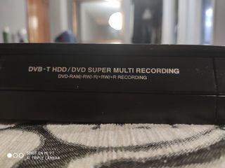 DVD grabador LG con disco duro y tdt
