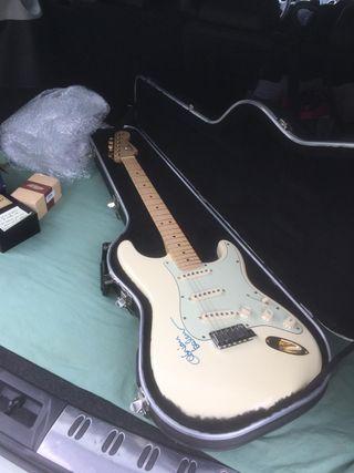 Fender stratocaster Gold U.S.A. Guitarra