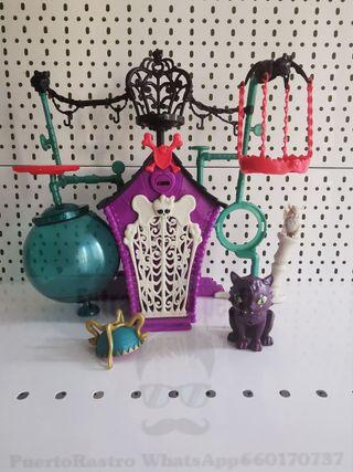 casa de mascotas monster high