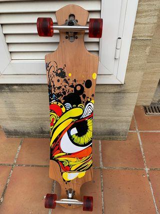 Longboard grafitti
