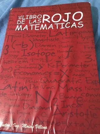 Libro Rojo de las Matemáticas
