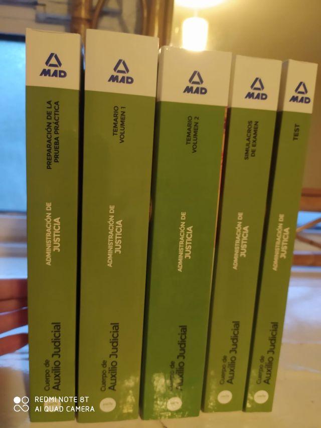 Libros de oposicion Auxilio judicial