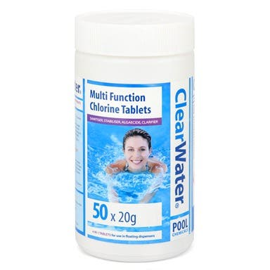 ClearWater Chlorine Tablets for Swimming Pools etc