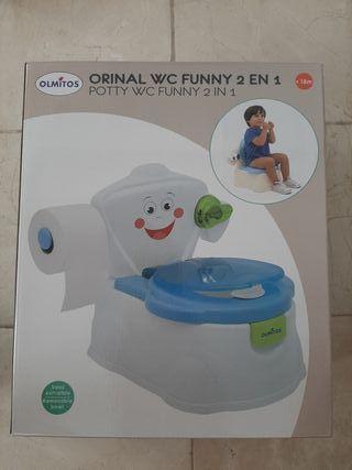 WC infantil Olmitos a estrenar