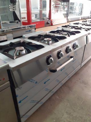 cocinas industriales con horno
