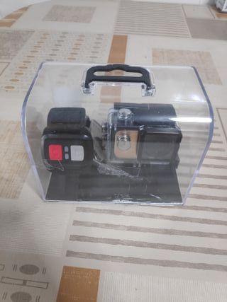 cámara deportiva sumergible graba en 4k