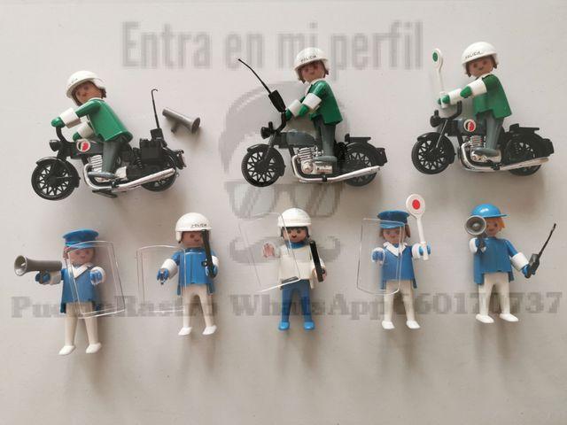 Famobil playmobil Policia manos fijas 1ª epoca