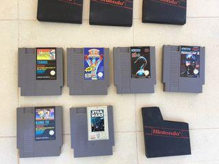 Lote juegos de NES