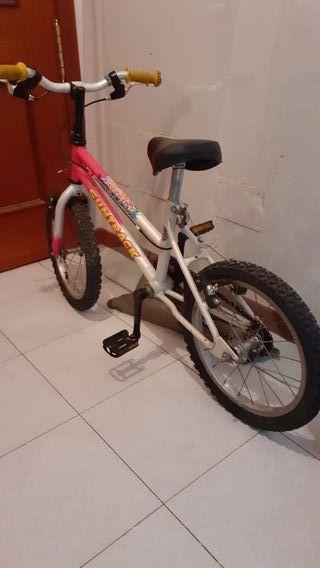 bici para niña de .4.a 6 años