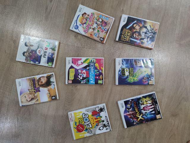 8 JUEGOS Wii VARIADOS