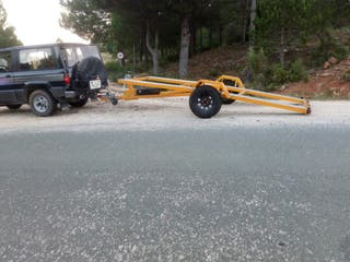 remolque plataforma batea porta coches