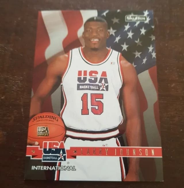 Trading card International LARRY JOHNSON #7