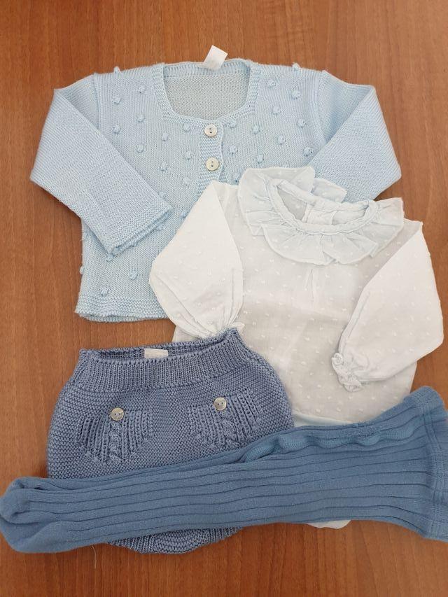 ropa de bebé talla 1 a 3 meses lote 15 euros