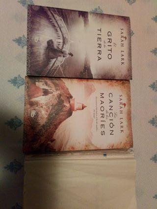 libros de sarah lark, el grito de la tierra y la c