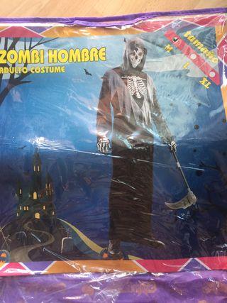 Disfraz zombi hombre M