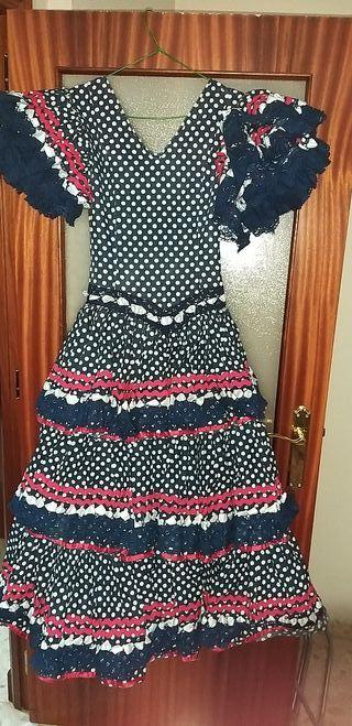 vestido flamenca.talla 38-40
