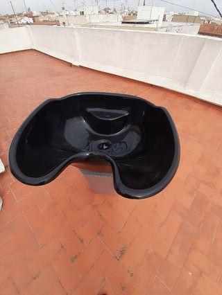 lavacabeza y silla