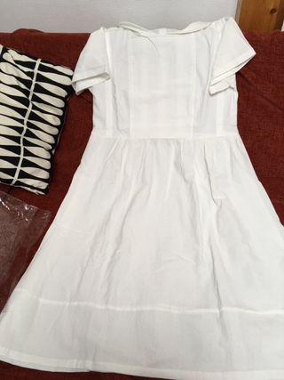 Robe Blanche été en coton